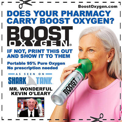 Boost Oxygen for your Pharmacy