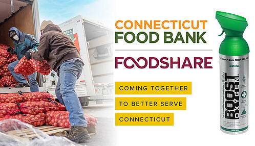 Connecticut Food Bank and Boost Oxygen