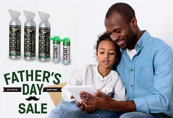 Boost Oxygen Father's Day Sale