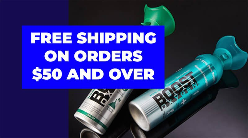 Boost Oxygen Free Shipping