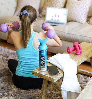 Boost Oxygen home workout