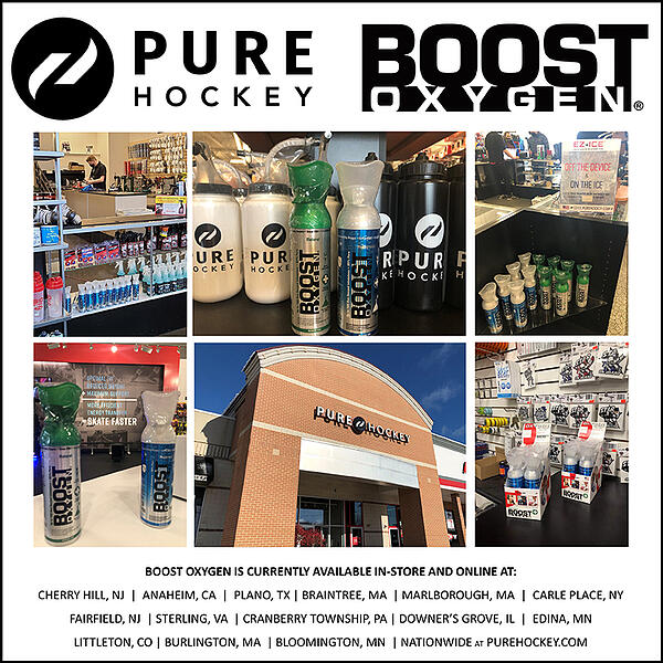 Boost Oxygen at Pure Hockey