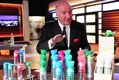 Kevin O'Leary Boost Oxygen