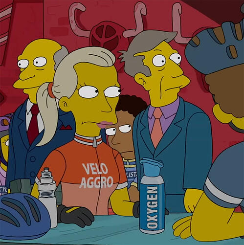 Boost Oxygen on the Simpsons